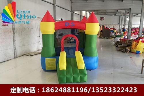 安徽四柱儿童充气城堡蹦床跳跳床