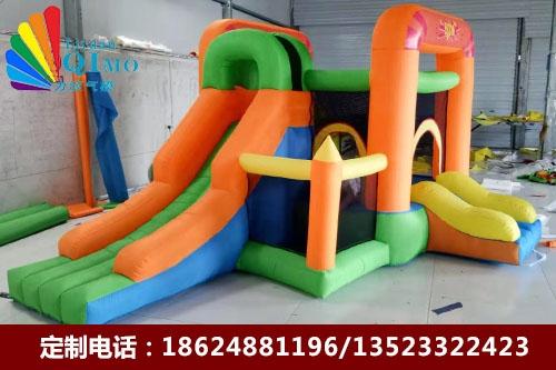 安徽双滑梯儿童蹦床跳跳床